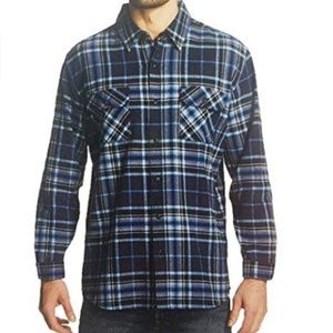 Weatherproof Shirts - Weatherproof Men's Vintage Flannel Long Sleeve But
